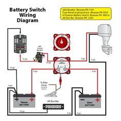 boat battery isolator wiring diagram chevy tilt steering column marine all data plans inverter charger