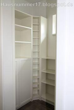 IKEA Hack: Einrichten der Abstellkammer / Speisekammer im Selbstbau mit Billy Regalen