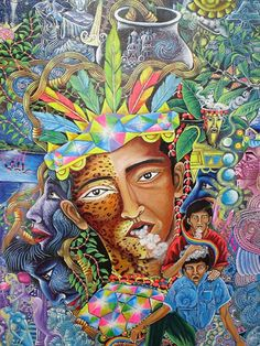 A brief introduction to the psychedelic works of Peruvian artist Pablo Amaringo. His paintings depict his visions after drinking the ayahuasca brew, a psychedelic blend of natural plants containing DMT.