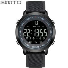 Special price GIMTO Digital Sport Watch Men Waterproof Shock Stopwatch Pedometer Bluetooth Smart Watch LED Electronic Wrist Watches Army Clock just only $19.90 with free shipping worldwide  #menwatches Plese click on picture to see our special price for you