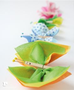 Tissue Paper Butterlies