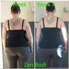 Amazing results in just 4 weeks using the Zen Bodi Program from Jeunesse!!!  Get yours at wholesale at www.youngjustice.jeunesseglobal.com