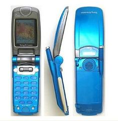 au A3014S Sony Ericsson(2002) My 4th cell phone