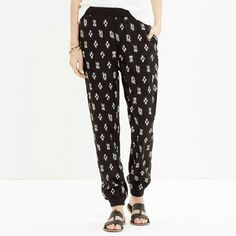 Love these cozy pants, they look awesome with a heel
