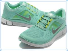 5eaab088d13ad Womens Nike Free Run + 3 Turquoise Grey Shoes