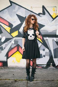 BACK TO BASICS // black dress four