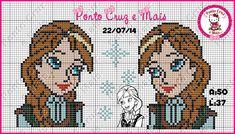 Anna - Frozen perler bead pattern