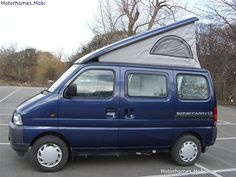 Suzuki Carry Van Suzuki Every, Kei Car, Motor Homes, Mini Trucks, Weird And Wonderful, Camper Van, Motor Car, Caravan, Motors