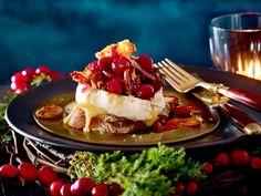 Gebackener Camembert mit Cranberrychutney Rezept | LECKER