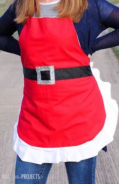 I love aprons! I will have to get this made for next year....running out of time this Christmas season.