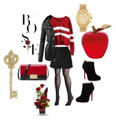 """Outfit 5"" by livi-schnyder on Polyvore featuring Mode, Avenue, IRO, LE3NO, Christian Louboutin, Michael Kors, Daum und Lord & Taylor"