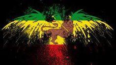 Abstract Ethiopian Flag