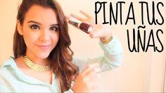 Pintate♥ de 3 formas diferentes las uñas!Hermosas Y Muy Rapidas De Hacer