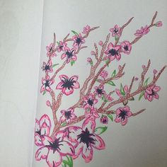 【home_is_where_the_art_is_04】さんのInstagramをピンしています。 《Cherry blossom tree 🌸 #blossom #nature #art #sketch #sketchpad #love #inlove #music #pens #pencils #art #f #f4f #followforfollow #selfie #instaart #instagram #phantomoftheopera #anime #japan #cherryblossoms #manga #kawaii #happy》