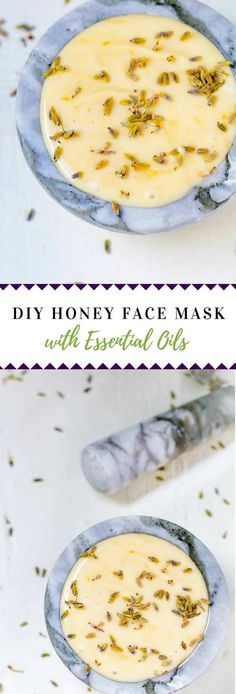 This DIY Honey Face Mask is the perfect way to rejuvenate, protect and moisturize tired skin.  With the addition of essential oils, this nutrient-packed DIY mask will leave you glowing. #essentialoils #DIYbeauty via @wendypolisi