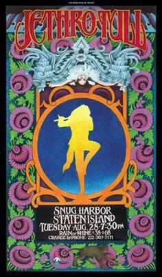 Jethro Tull / Snug Harbor Poster
