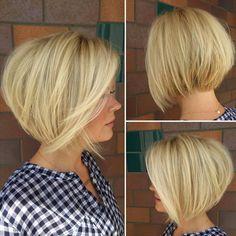 nice 55 Идей стрижки боб на все виды волос - Выбираем для себя идеальный вариант в 2016 году (фото)