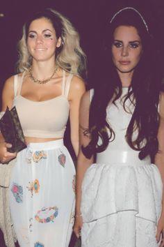 Lana del rey and Marina & the Diamonds
