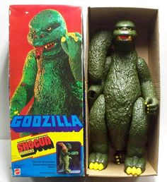 9 Godzilla Action Figures Worth Roaring About Retro Toys, Vintage Toys, Vintage Games, Childhood Toys, Childhood Memories, Godzilla Toys, Den Of Geek, Fighting Robots, Monster Toys