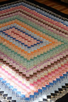Trip Around the World Quilt by Jeni Baker, via Flickr