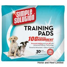 Simple Solution Puppy Training Pads Made from a super absorbent top layer with…