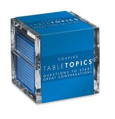 TableTopics COUPLES EDITION $25