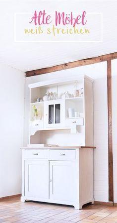 vorher nachher der esszimmerschrank m bel m belversch nerung und renovieren. Black Bedroom Furniture Sets. Home Design Ideas