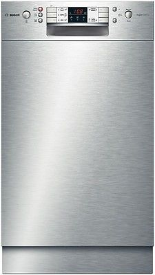 Bosch Unterbaugerät Geschirrspüler Edelstahl 5 Programme 45cm DosierAssistent 4242002734804 | eBay