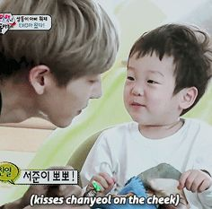 <3 So happy he couldn't even stay in frame. #chanyeol #returnofsuperman