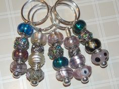 Journal charms / 20 Euro beads mix &5keyrings is going up for auction at  1pm Thu, May 9 with a starting bid of $3.