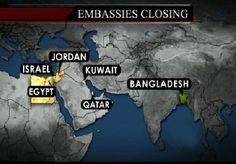 US Embassys to Close Sunday - Al Queda Plot - News - Bubblews