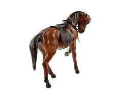 """Статуэтка """"Лошадь"""" - натуральняа кожа - В29   Westwing Интерьер & Дизайн Horses, Animals, Animales, Animaux, Animal, Animais, Horse"""