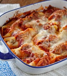 Sausage and Cheese Stuffed Shells