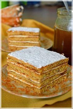 Ciasta z dodatkiem miodu kojarzą mi się z nachodzącymi świętami. W domu rozchodzi się cudowny zapach. Moja ulubiona masa do tego ciasta to ...