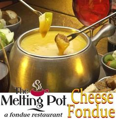 Courtesy of The Melting Pot in an early morning talk show. Beer can be substituted with skim milk or broth Cheese Fondue. Courtesy of The Melting Pot in an early morning talk show. Beer can be substituted with skim milk or broth Fondue Recipe Melting Pot, Broth Fondue Recipes, Melting Pot Recipes, Yummy Recipes, Yummy Food, Cat Recipes, Fun Food, Vegetarian Recipes, Recipies