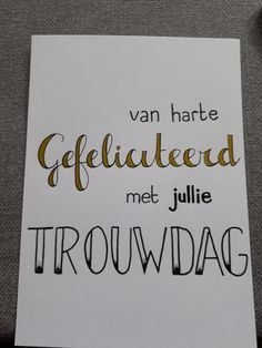 Brush Lettering, Diy Cards, Handwriting, Wedding Anniversary, Birthday Cards, Card Making, Doodles, Typography, Presents