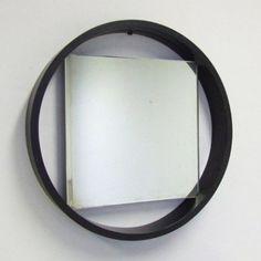 DZ84 Mirror by Benno Premsela for Spectrum