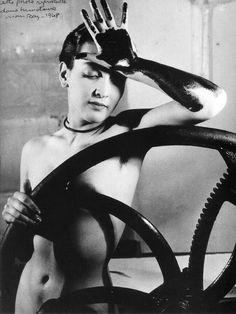 Man Ray, Erotique Voilée (portrait of Meret Oppenheim), 1933