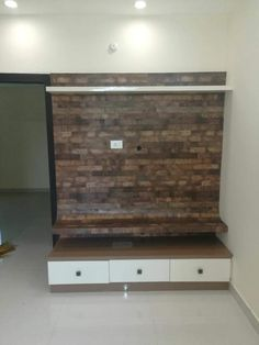 Wooden Window Design, Tv Wall Design, Simple Tv Unit Design, Tv Unit Furniture Design, Lcd Panel Design, Modern Tv Wall Units, Bedroom Cupboard Designs, Wall Cladding, Product Design