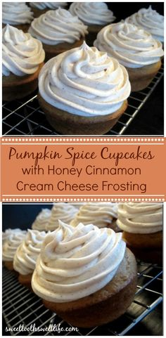 use a cake mix with homemade honey cinnamon cream cheese frosting ...