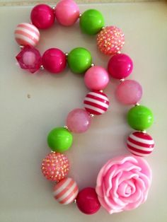 Klipseas: New Chunky Necklaces for Girls!