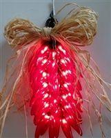Lighted Christmas Ristra