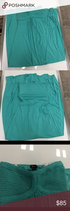 Sky mint green strapless summer maxi dress size xS Sky mint green strapless summer maxi dress size xs New without tags Sky Dresses Maxi