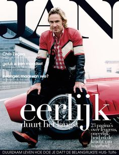 Chris Zegers | Cover JAN Magazine 7-2008