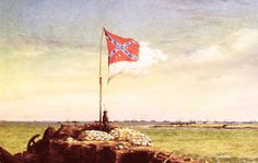 """Fort Sumter Flag"" by Granger - Visit to grab an amazing super hero shirt now on sale! Southern Heritage, Southern Pride, Confederate States Of America, Confederate Flag, Fort Sumter, Civil War Art, Somewhere In Time, American Civil War, Civilization"