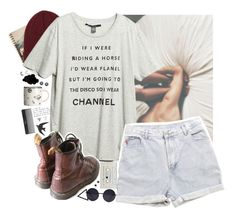 """Undefined hope"" by redblossem ❤ liked on Polyvore featuring Again, Billabong, Levi's, With Love From CA, Retrò, H&M, Sephora Collection, women's clothing, women and female"