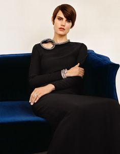 Saskia de Brauw by Alasdair McLellan for Vogue Paris December 2014  [Editorial]