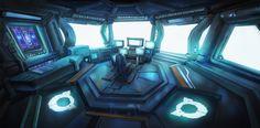 ArtStation - Cockpit, Oxidate Mustard