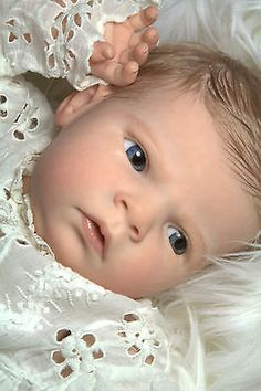 Reborn Baby Girl (Or Boy!) From The Brand New Sabrina Sculpt by Reva Schick