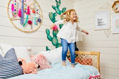 Project Nursery - Boho Chic Girl's Room